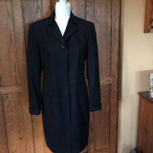 Ralph Lauren, knee length, stripe trench coat